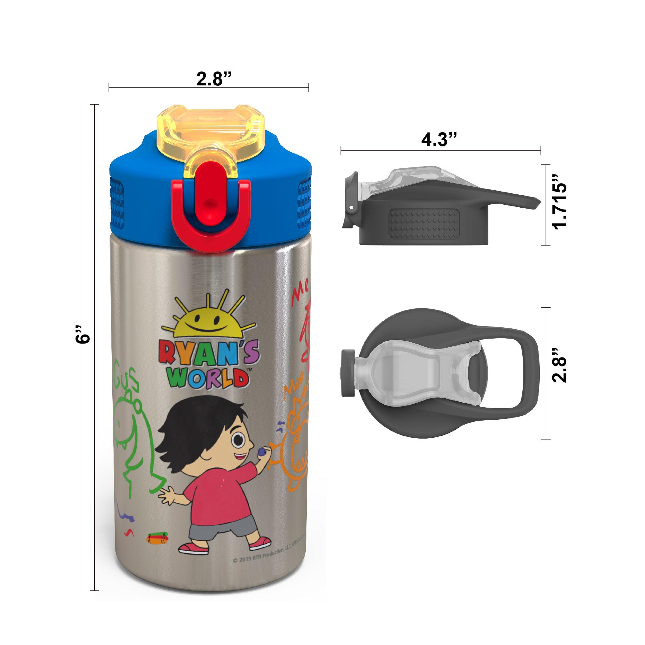 Ryan's World 15.5 ounce Water Bottle, Ryan & Friends slideshow image 5