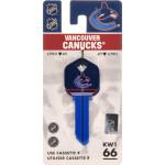NHL Vancouver Canucks Key Blank