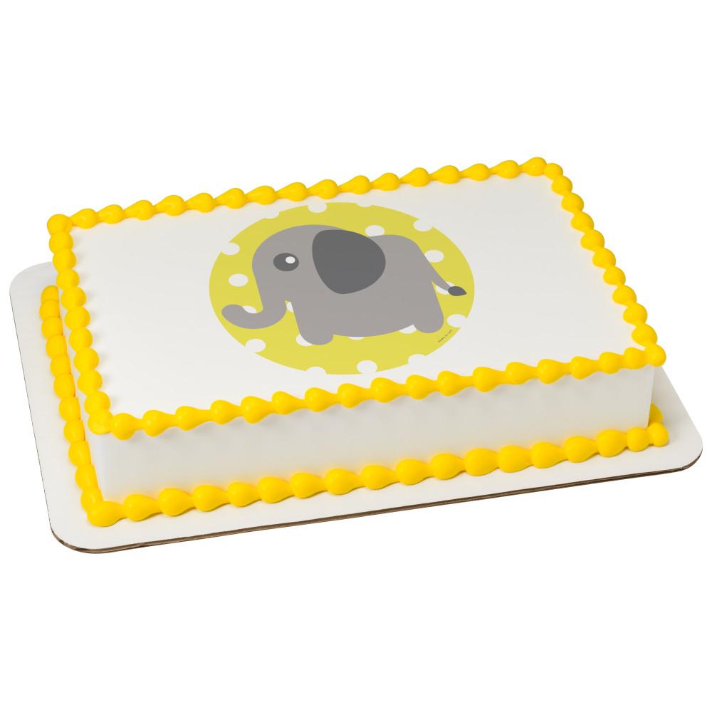 Baby Elephant Polka Dot