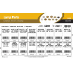Lamp Parts Assortment (Lamp Caps, Reducers, & Couplings)