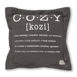 Lodge - Throw Pillow Cozy Print