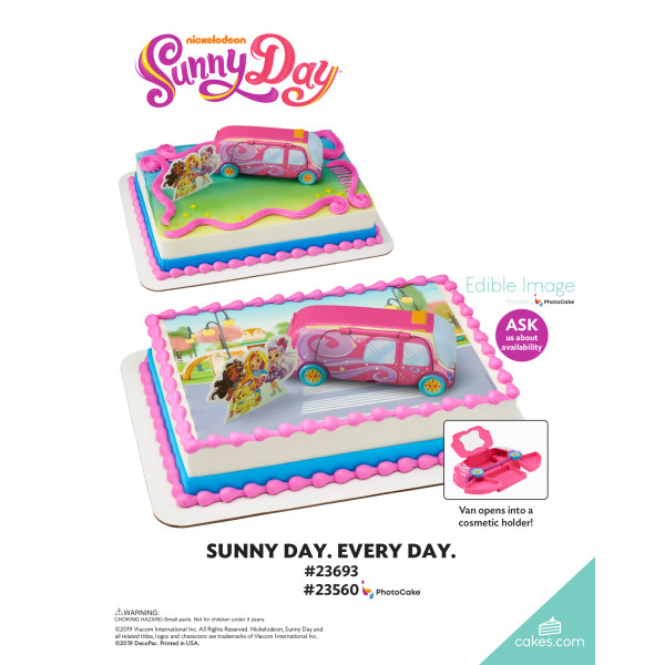 Sunny Day™ Sunny Day. Every Day. DecoSet® The Magic of Cakes® Page