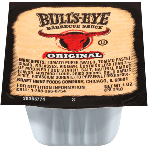 BULL'S-EYE Original BBQ Sauce, 1 oz. Cups (Pack of 100) image