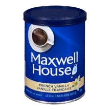 Maxwell House French Vanilla Ground Coffee