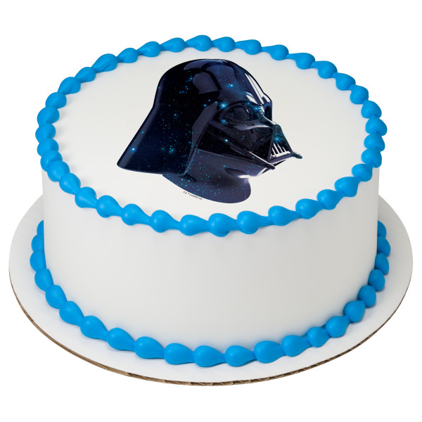 Star Wars™ Vader Galaxy PhotoCake® Edible Image®