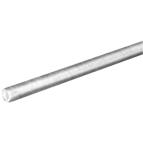 The SteelWorks Hot Dipped Galvanized Threaded Coarse Rod 3/8