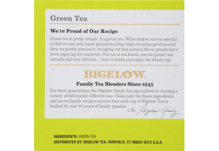 Keurig Bigelow Green Tea  K-Cups box of 12