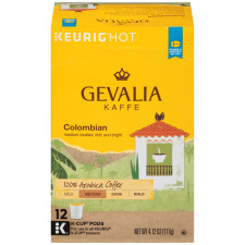 Gevalia Colombian Coffee K-Cup Pods 12 count