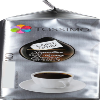 Carte Noire Signature Roast Ground Coffee T-Disc for Tassimo Brewing System, 14 count