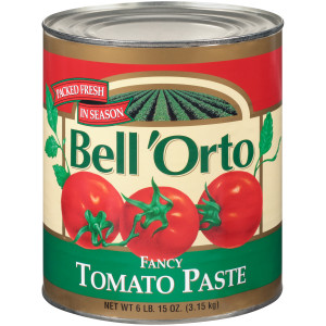 BELL ORTO Tomato Paste, 111 oz. Can (Pack of 6) image