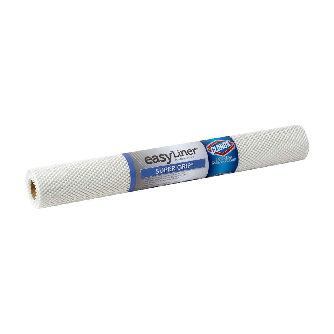 Super Grip® Easy Liner® Brand Shelf Liner with Clorox® - White, 20 in. x 6 ft. Image