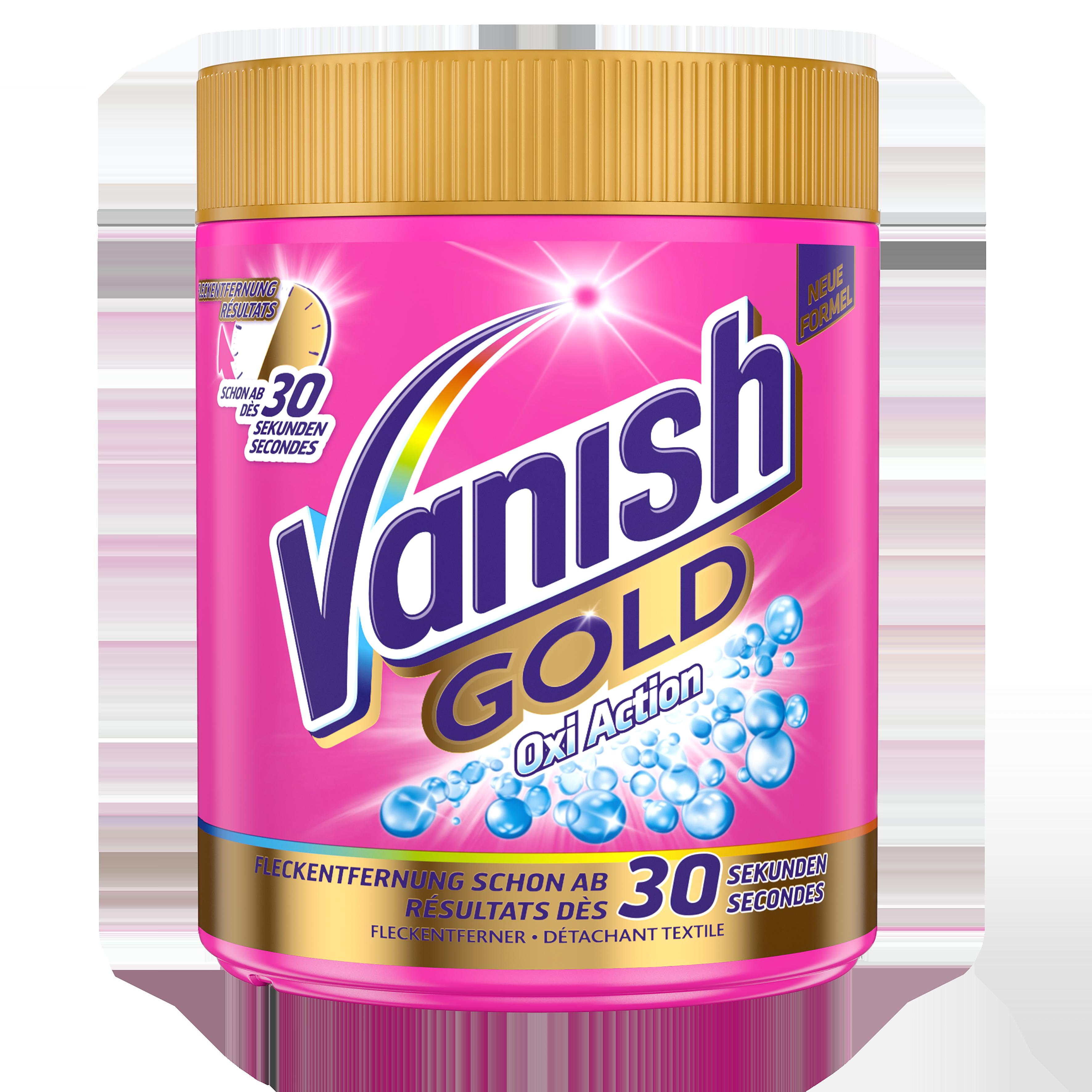 Vanish Gold Oxi Action Pulver für Universal- und Buntwäsche