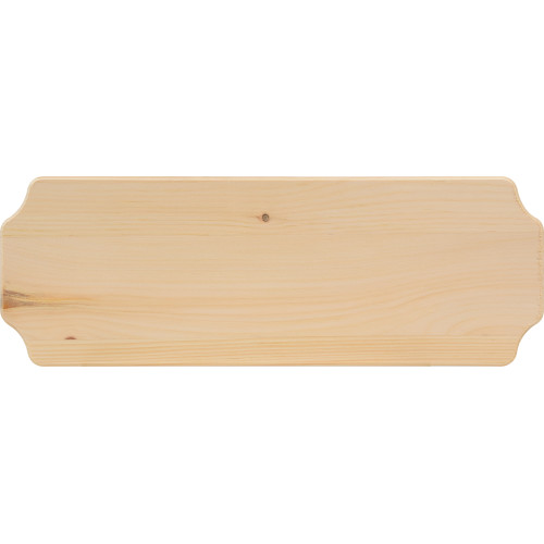 Natural Pine Address Plaque (6