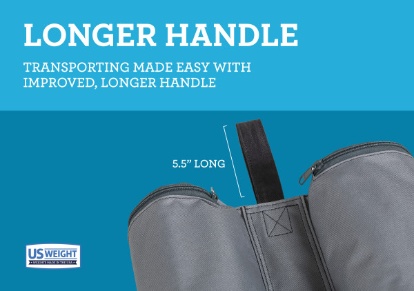 Titan Fillable Canopy Weight Bags - Set of 4 6