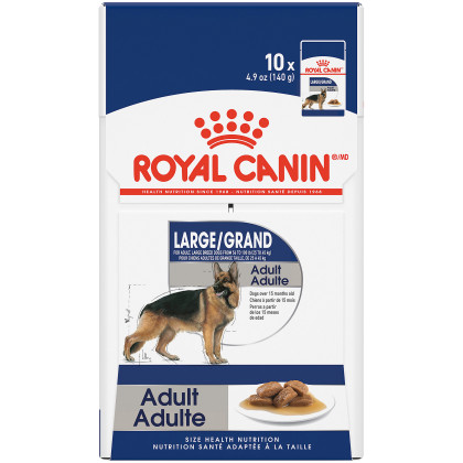 Large Adult Pouch Dog Food