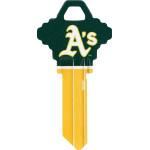 MLB Oakland Athletics Key Blank