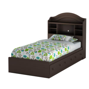 Summer Breeze - Mates Bed With Bookcase Headboard Set