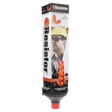 Radians Resistor Foam Earplug 500 Pair Dispensers