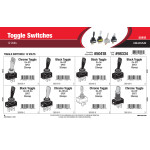 Toggle Switches Assortment (12 Volts)