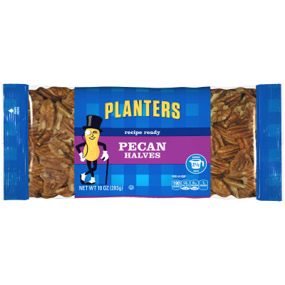 Planters Pecan Halves 10 oz Bag