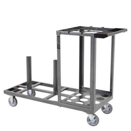 Statesman Cart Bundle - Silver Steel 20