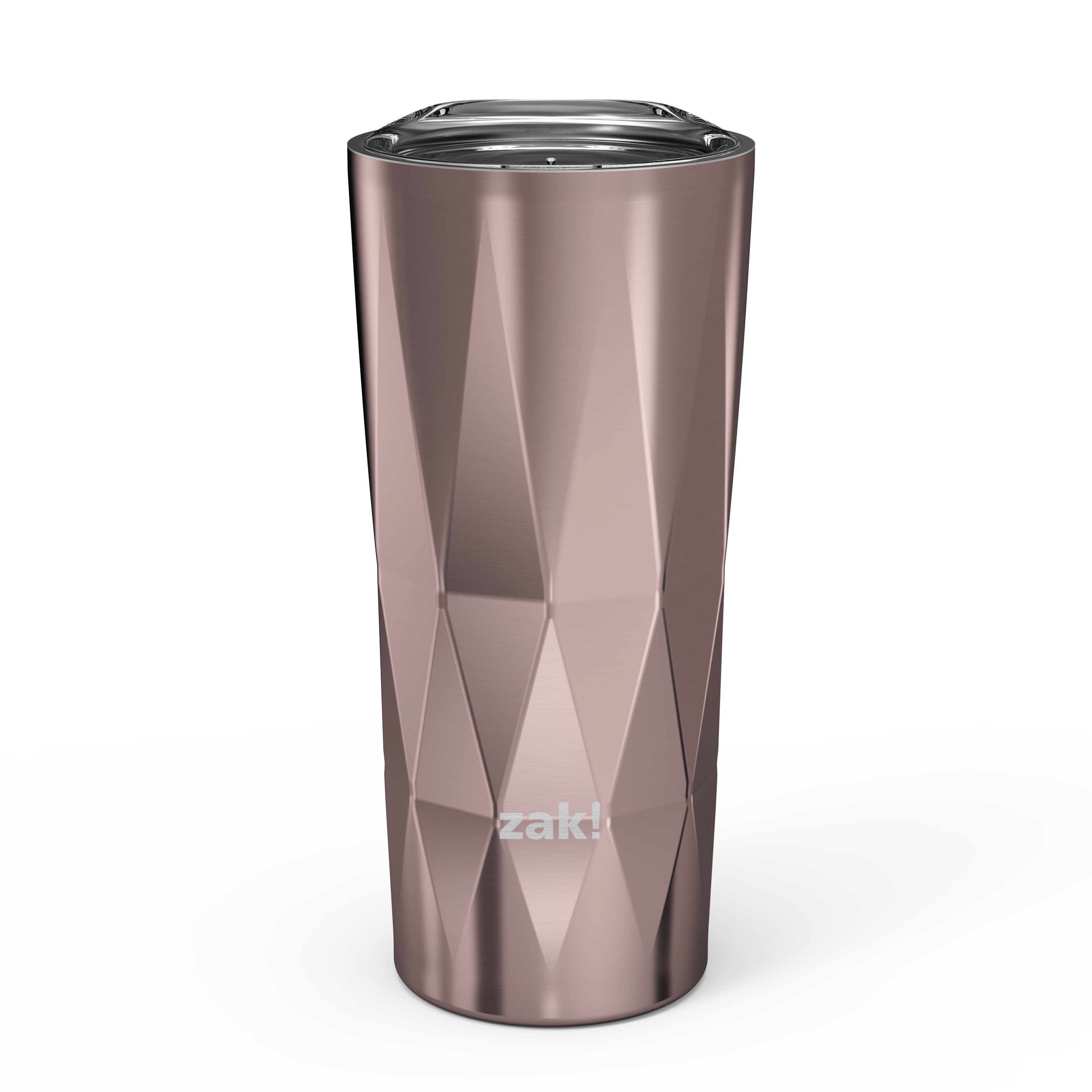 Fractal 16 ounce Vacuum Insulated Stainless Steel Tumbler, Rose Gold slideshow image 1