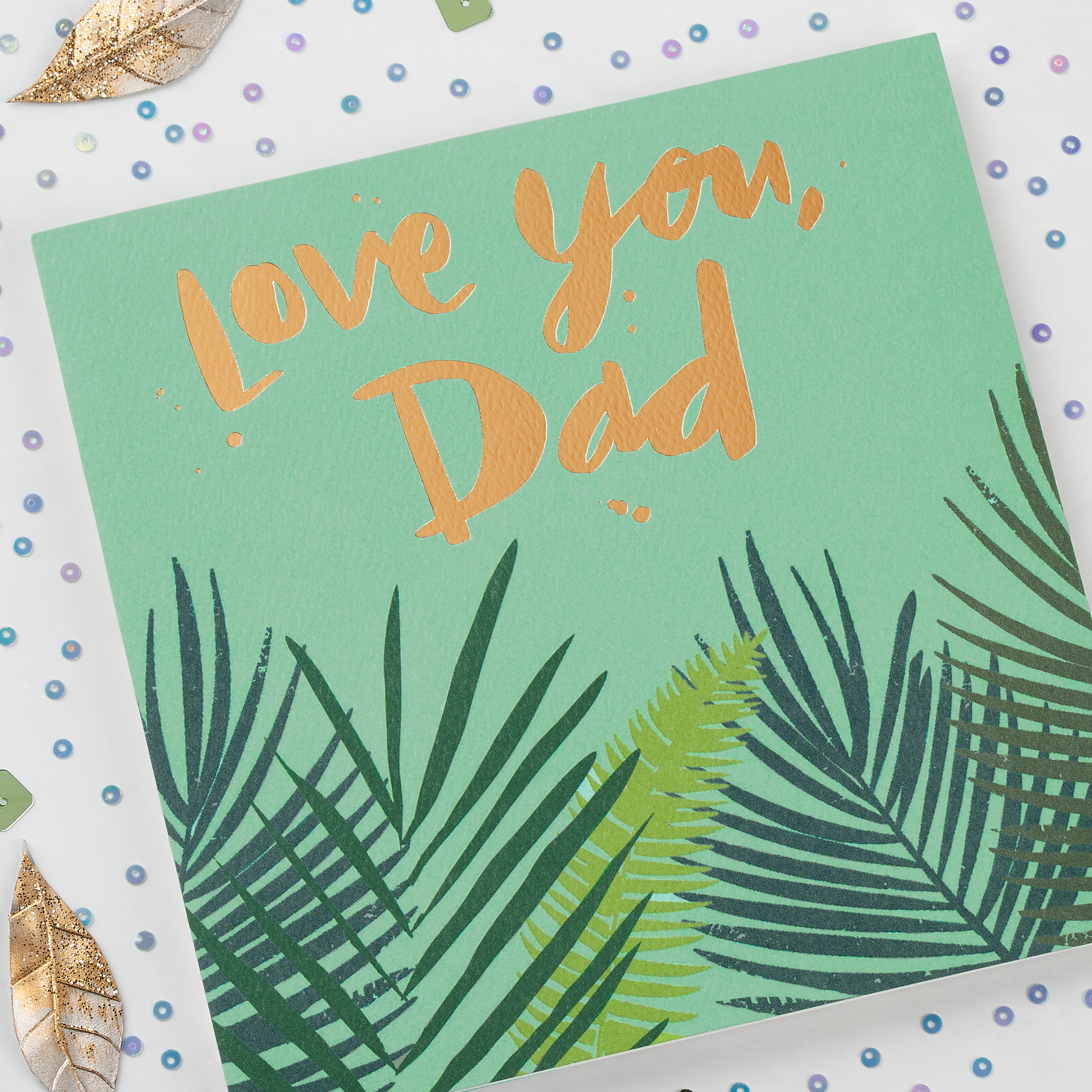 Love You Father's Day Card image
