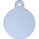 Light Blue Large Circle Quick-Tag