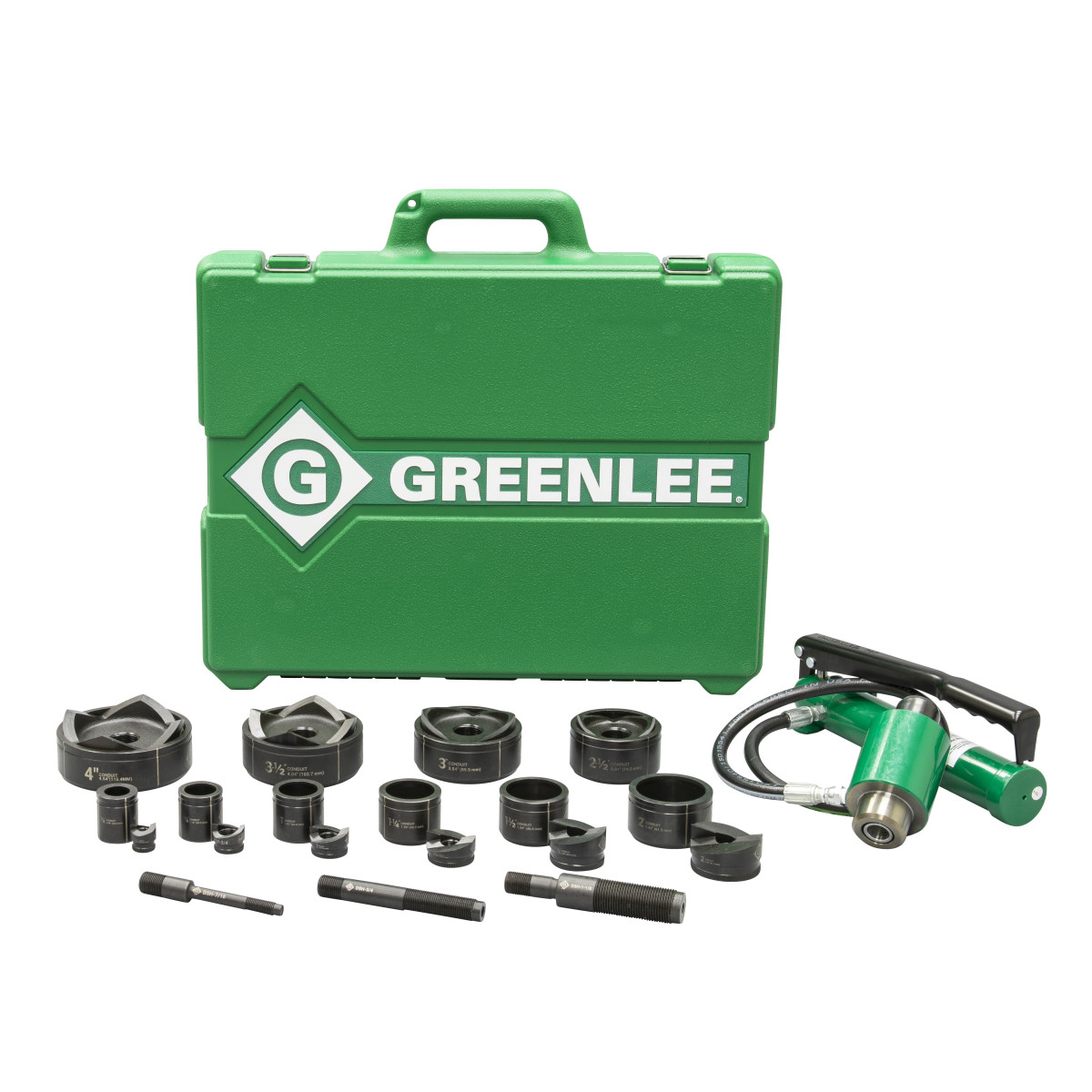 "Greenlee 7310SB Punch Set Hyd Driver - 1/2""X4"""