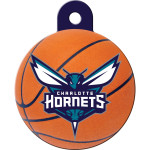 Charlotte Hornets Large Circle Quick-Tag