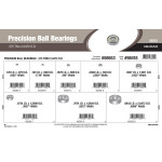 "Precision Ball Bearings Assortment (0.375"" thru 2.0472"" Outer Diameter)"