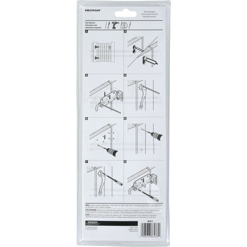 Hardware Essentials Black Ornamental Thumb Latch -In-Swinging & Out-Swinging Gates up to 3