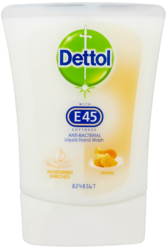 Dettol No Touch Hand Wash with E45 RefillHoney
