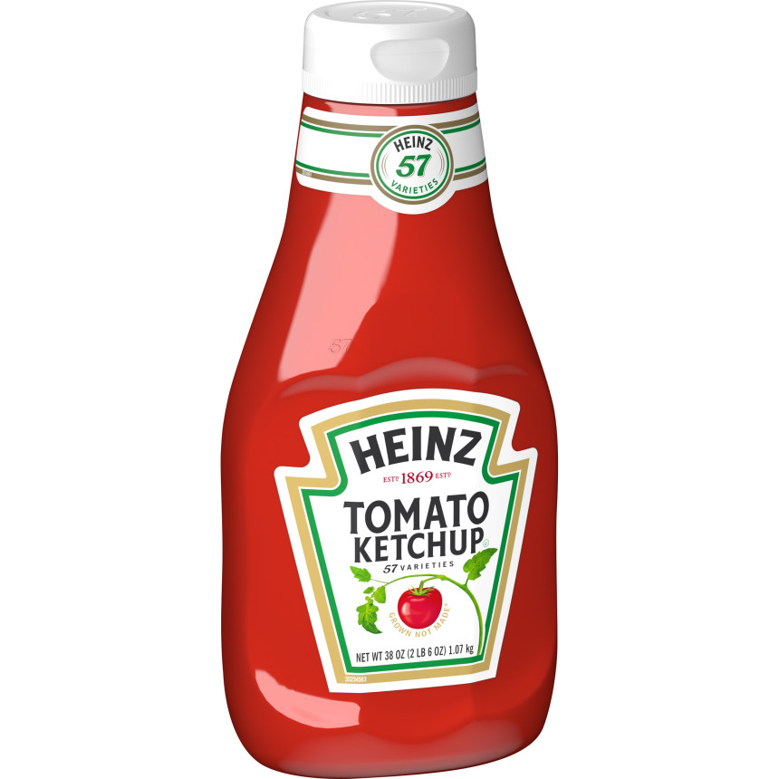 Heinz Tomato Ketchup, 38 oz Bottle