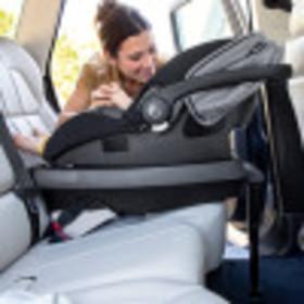 SecureMax Infant Car Seat with SensorSafe + SafeZone Load Leg Base