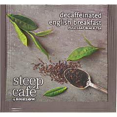 steep Café English Breakfast Decaf - Box of 50 pyramid tea bags