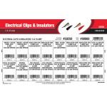 Electrical Clips & Insulators Assortment (5 & 10 Amp)