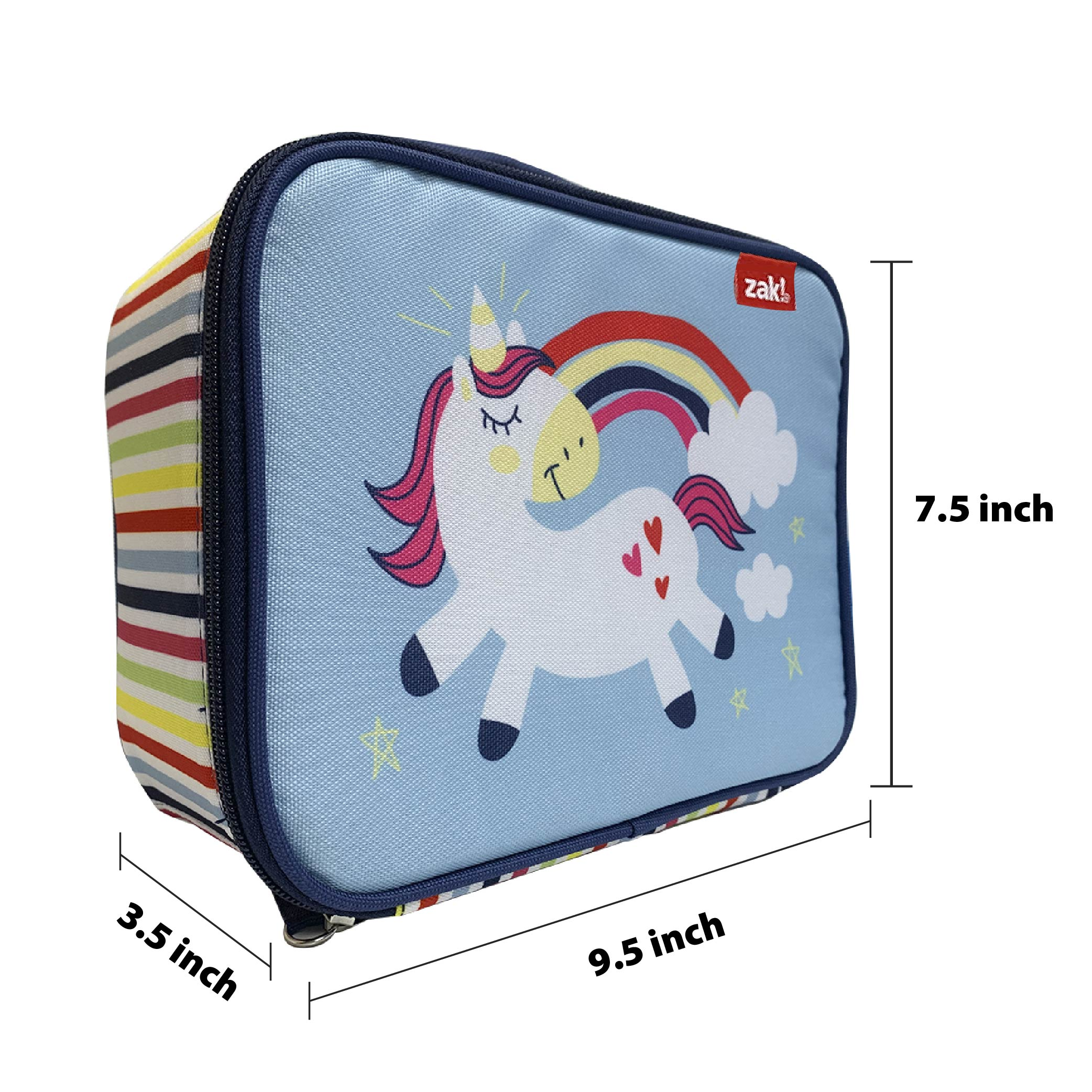 Happy Things Insulated Reusable Lunch Bag, Unicorns slideshow image 5