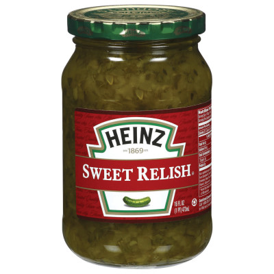 Heinz Sweet Relish 16 fl oz Jar