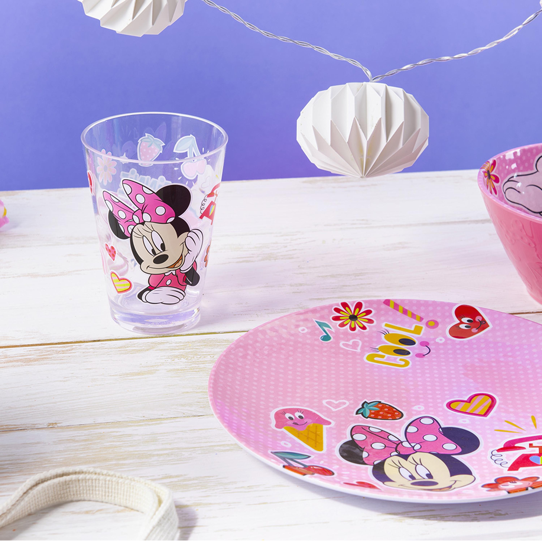 Disney Plate, Bowl and Tumbler Set, Minnie Mouse, 3-piece set slideshow image 2