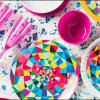 Confetti 35 ounce Pasta Bowl, Eggshell White, 6-piece set slideshow image 14