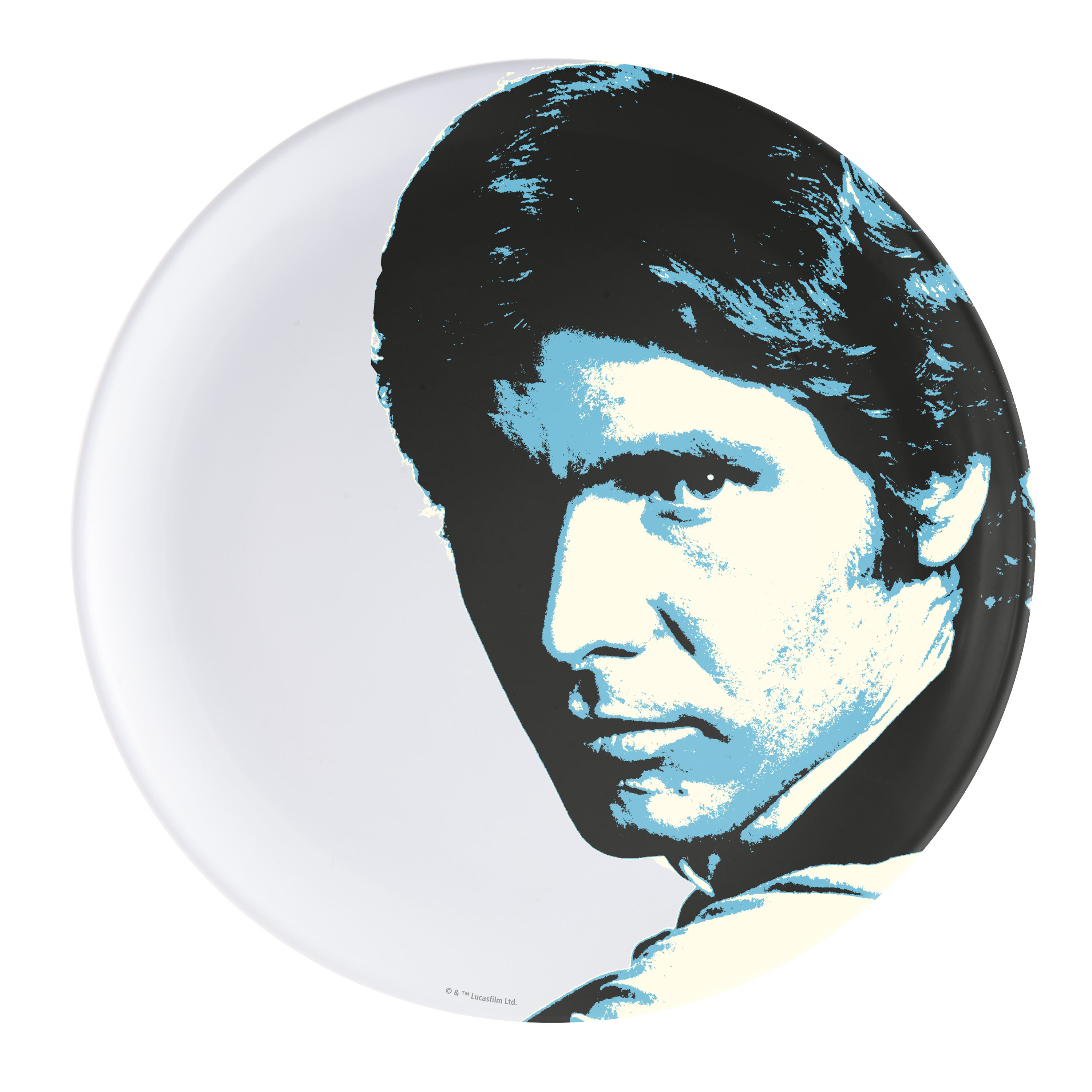Star Wars Kids Plate, Han Solo slideshow image 1