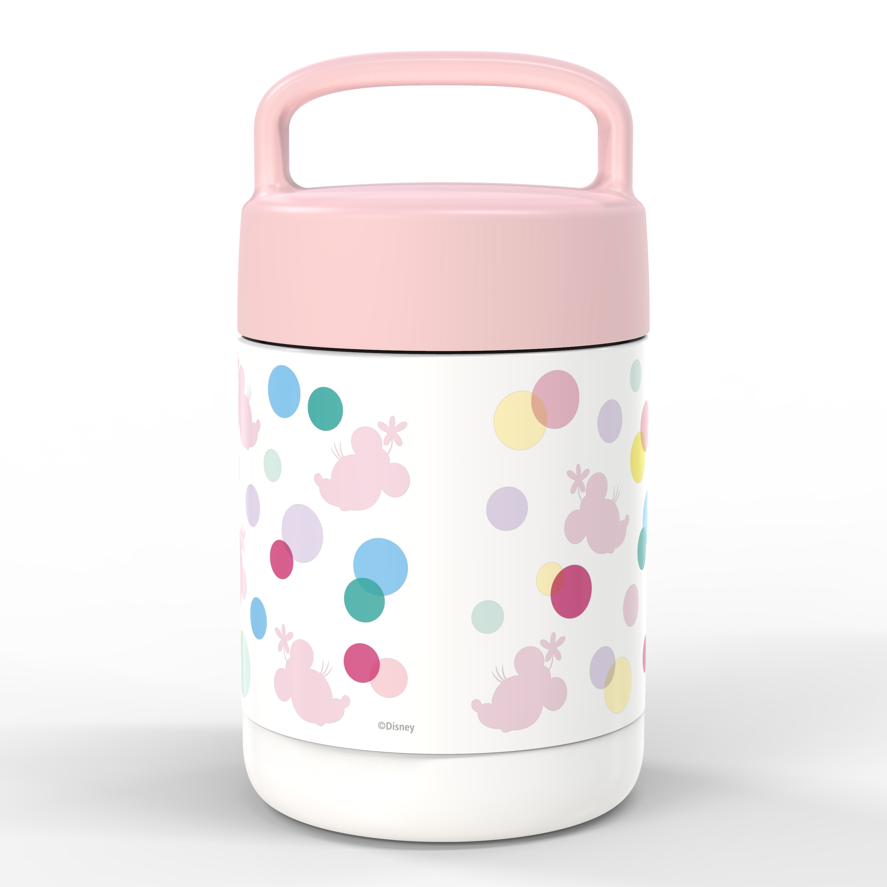 Disney Reusable Vacuum Insulated Stainless Steel Food Container, Minnie Mouse slideshow image 4
