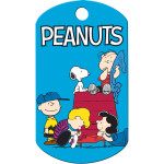 Peanuts Gang Large Military ID Quick-Tag