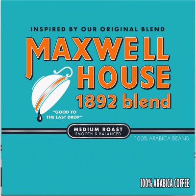 Maxwell House 1892 Blend Medium Roast Coffee K-Cup Pods, 12 count Box