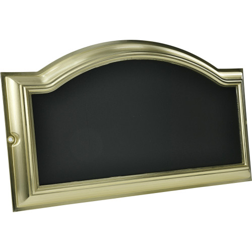 Distinctions Address Plaque Brass