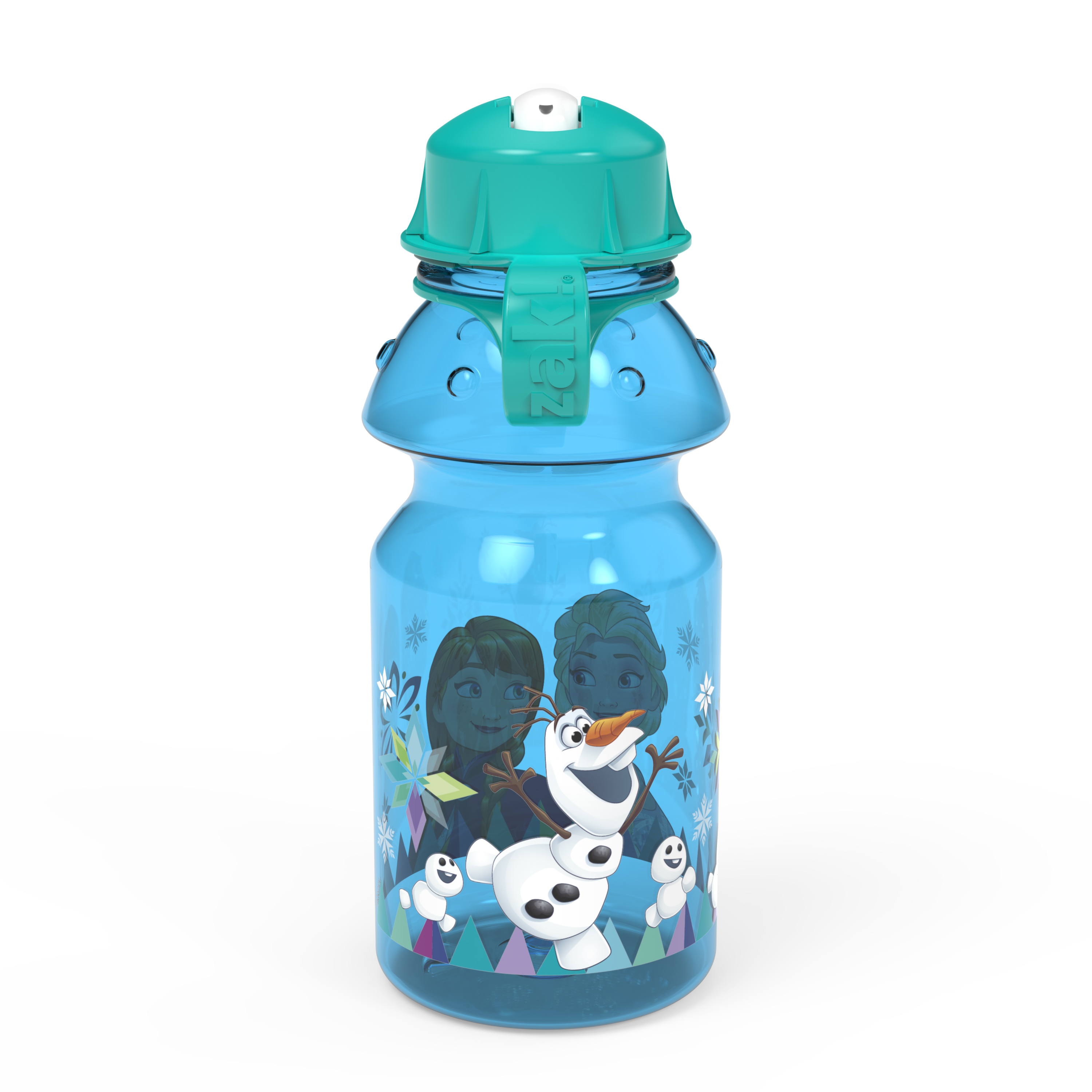Disney Frozen 14 ounce Water Bottle, Anna, Elsa and Olaf slideshow image 2
