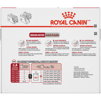 Royal Canin Size Health Nutrition Medium Adult Pouch Dog Food