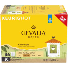 Gevalia Columbian Pods, 36 count Box