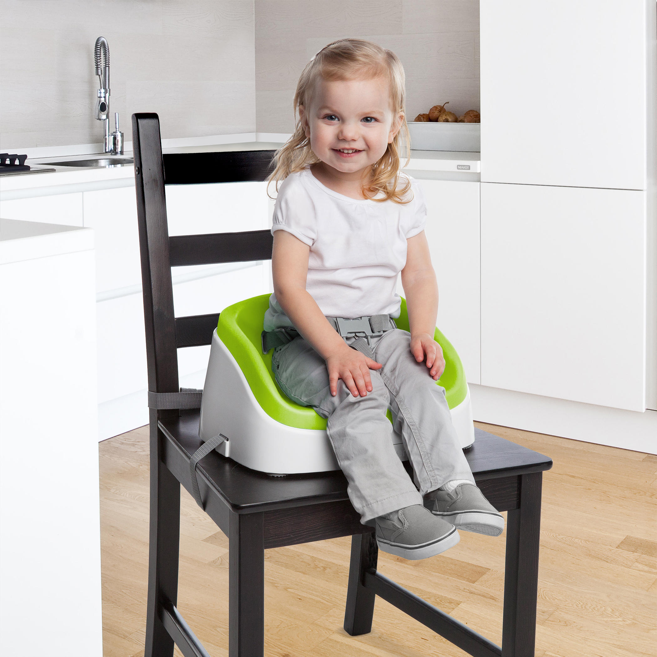 SmartClean Toddler Booster™ - Lime